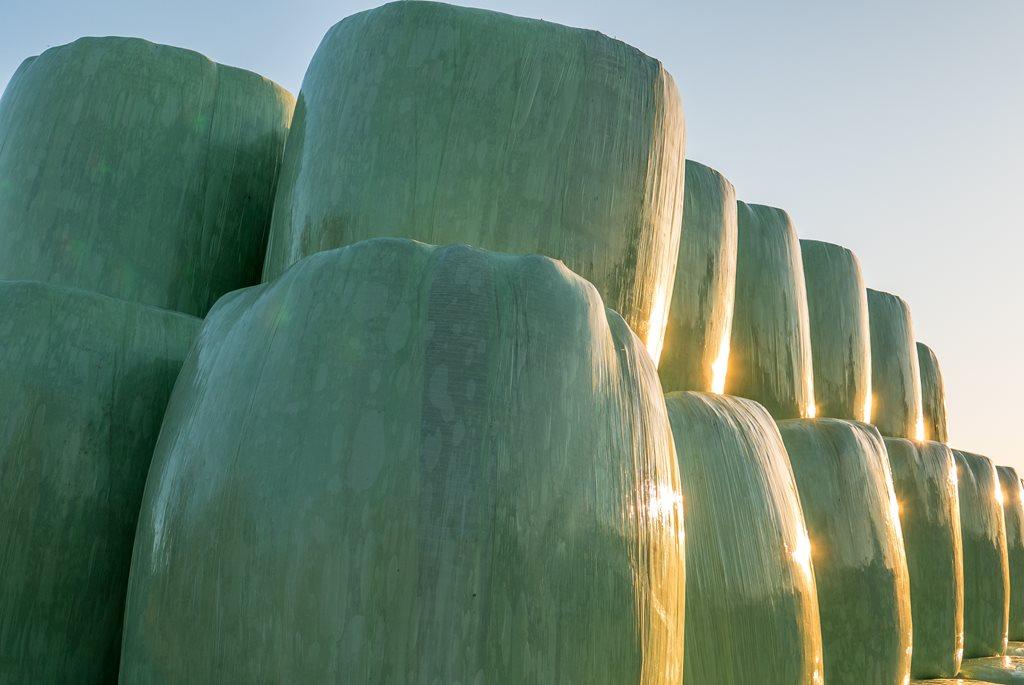 Regranulat CONTALEN stosuje się doprodukcji folii dla rolnictwa – folie dosianokiszonki, folie dookrywania siana, czyfolie tunelowe.