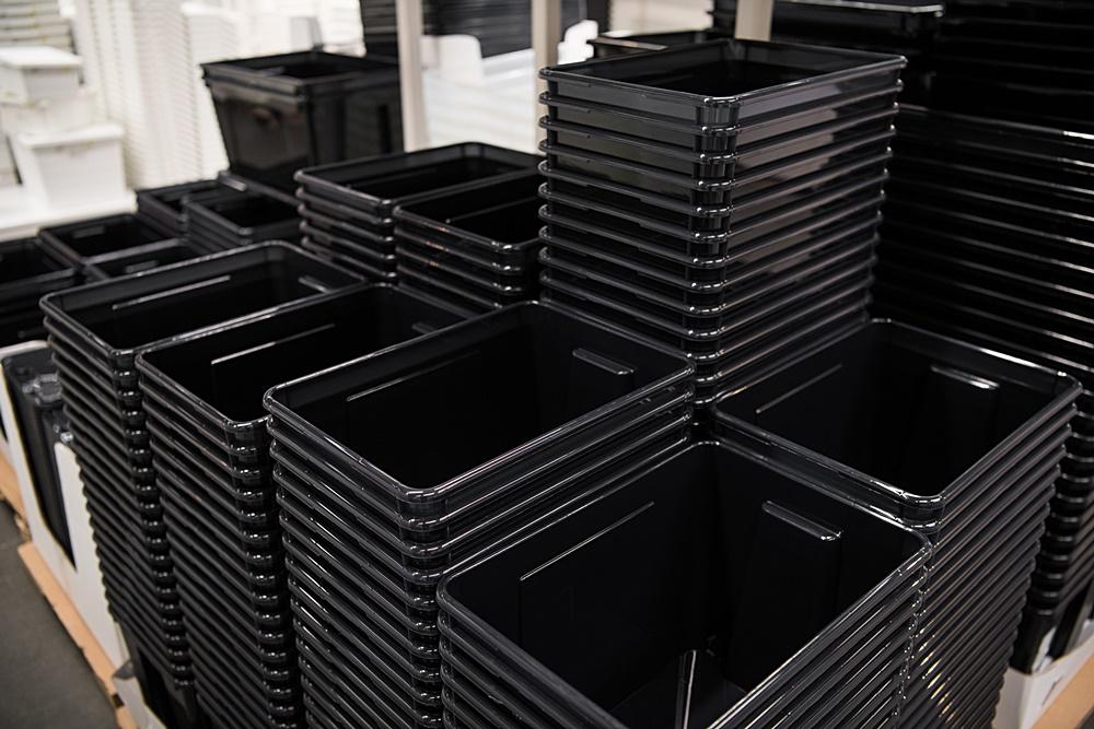 Regranulat CONTALEN stosuje się doprodukcji plastikowych opakowań